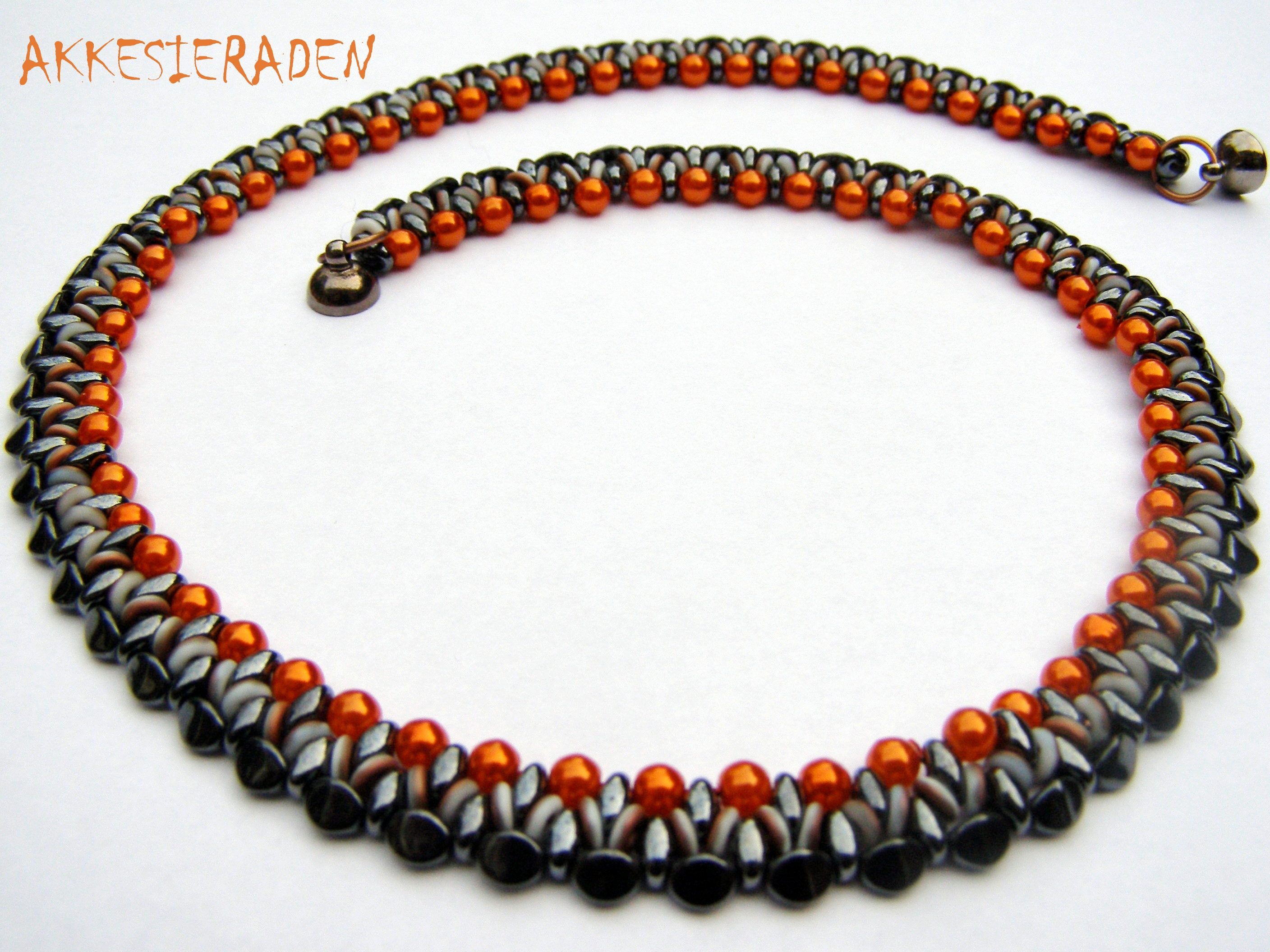 bead o creaties necklace with free more beads design patternnog met meer