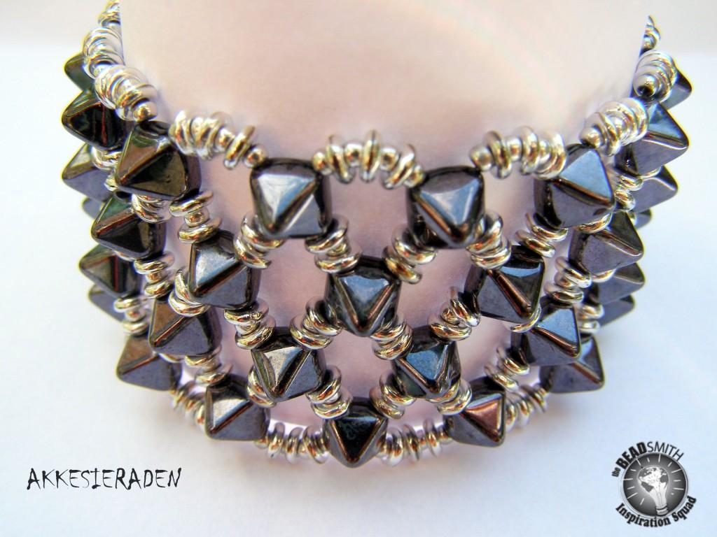 Captured Pyramid bracelet
