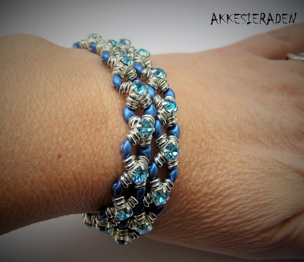 Wrap and Bling bracelet by Akke Jonkhof